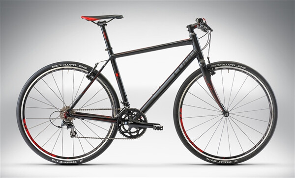 CUBE - SL ROAD PRO Black Grey Red