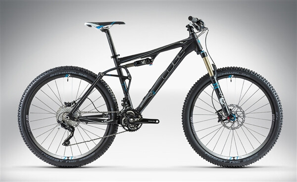 CUBE - AMS 130 HPA RACE 27.5 black anodized