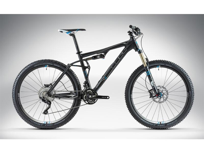 Cube AMS 130 HPA RACE 27.5 black anodized