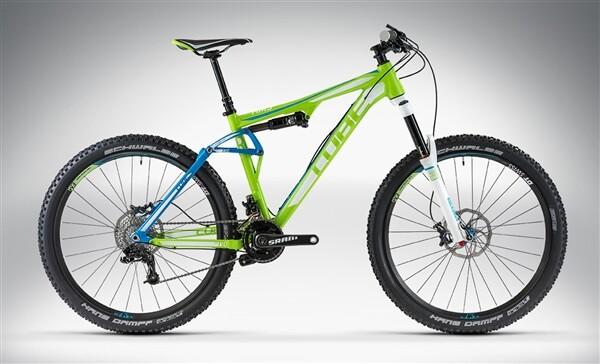 CUBE - AMS 150 HPA RACE 27.5 green'n'blue