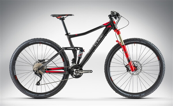 CUBE - STING 120 29 black'n'red