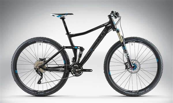 CUBE - STING 120 RACE 29 black anodized