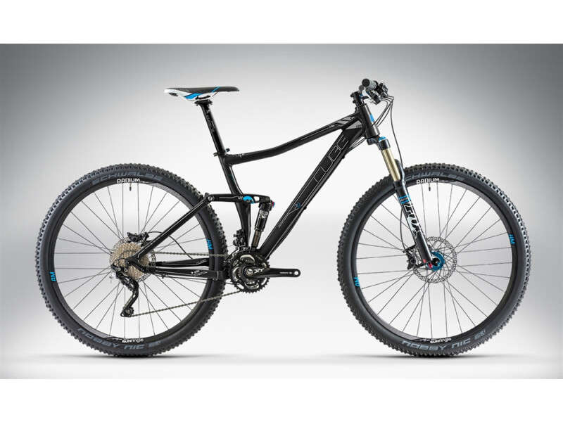 Cube STING 120 RACE 29 black anodized