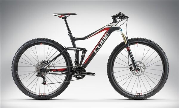 CUBE - STEREO 120 HPC RACE 29 black'n'white'n'red