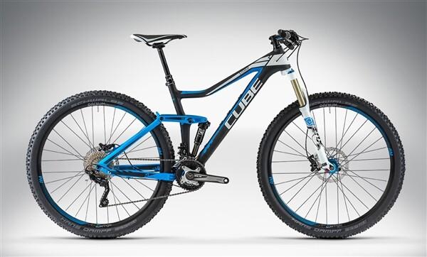 CUBE - STEREO 140 HPC PRO 29 black'n'blue
