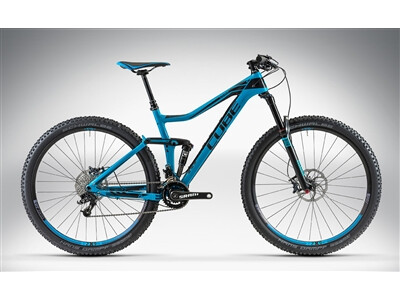 Cube STEREO 140 HPC RACE 29 blue'n'black