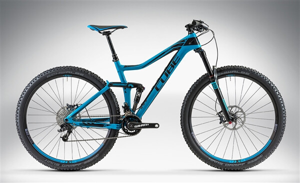CUBE - STEREO 140 HPC RACE 29 blue'n'black