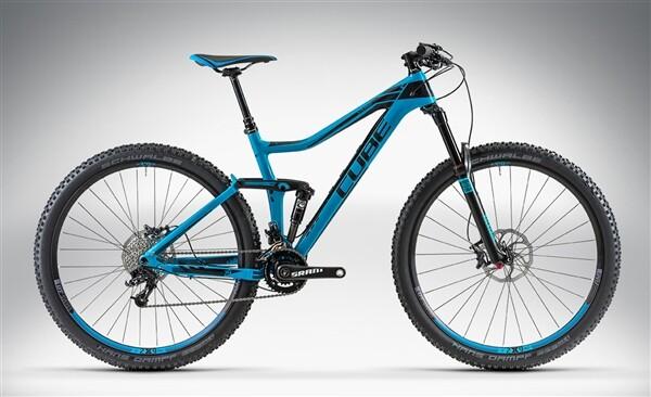 CUBE - STEREO 140 HPC RACE 29 blue'n'black