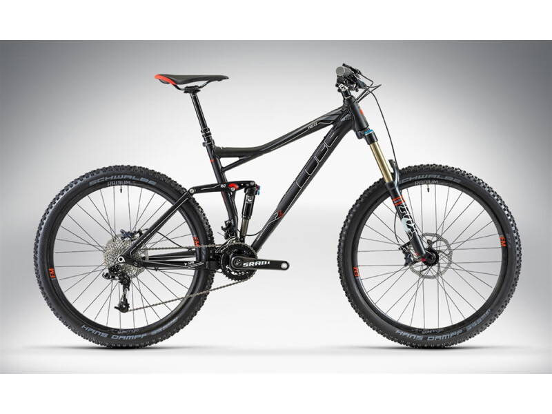 Cube FRITZZ 160 HPA RACE 27.5 black anodized