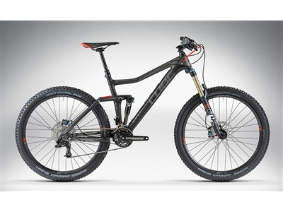 Cube STEREO 160 SUPER HPC RACE 27.5 Blackline