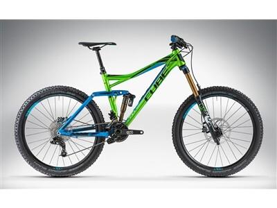 Cube FRITZZ 180 HPA SL 26 green'n'blue