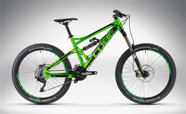 CUBE - HANZZ PRO 26 green'n'black