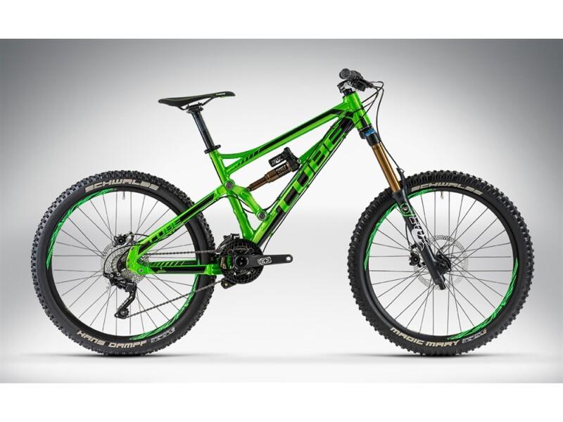 Cube HANZZ SL 26 green'n'black