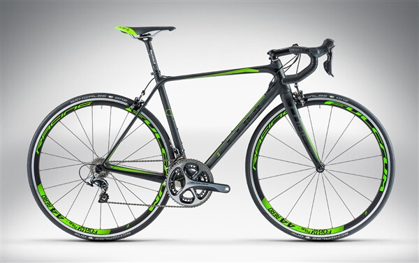 CUBE - LITENING SUPER HPC SL black'n'green