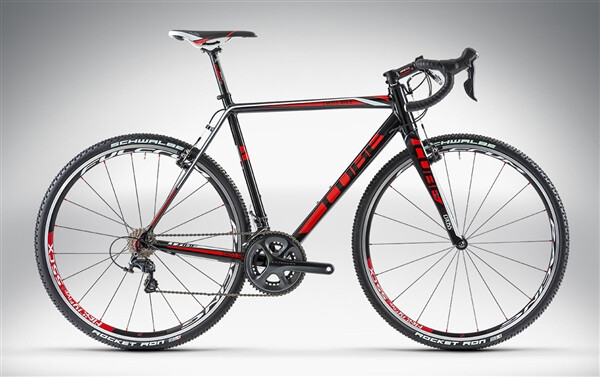 CUBE - CROSS RACE PRO black'n'red