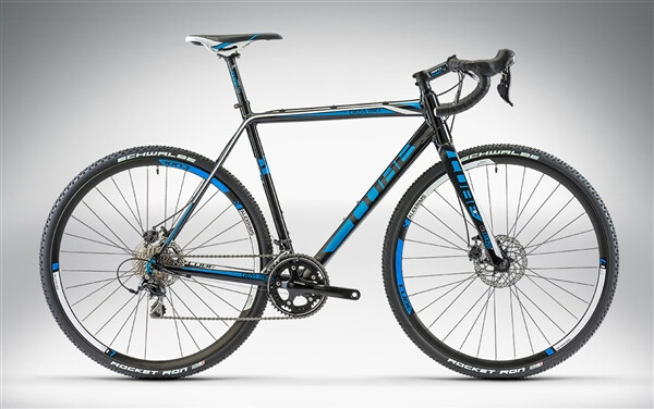 CUBE - CROSS RACE DISC black'n'blue
