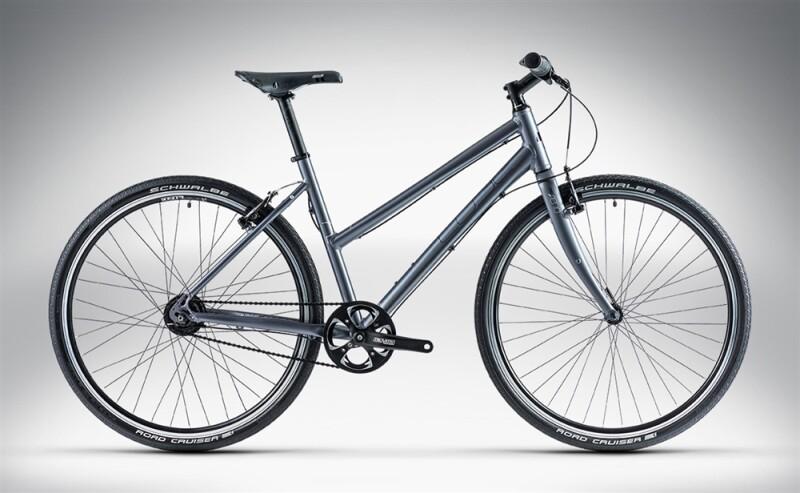 Cube HYDE PRO Dark Grey Trapeze Urban-Bike