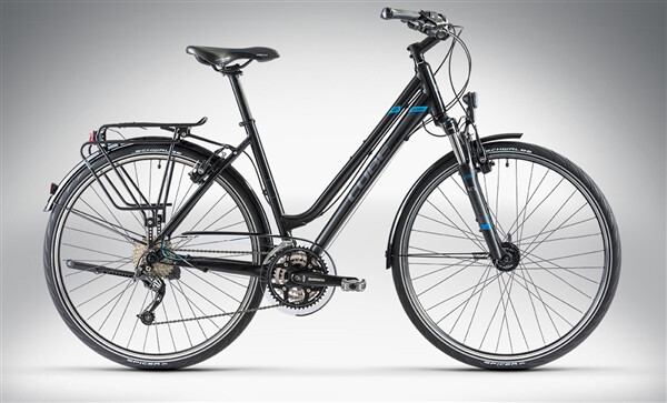 CUBE - TOURING Black Grey Blue Lady