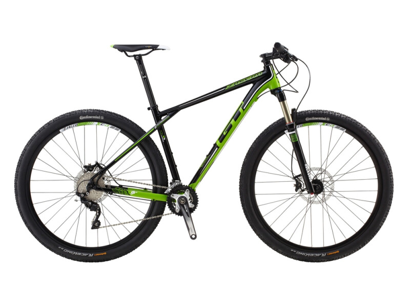 GT 29 M ZASKAR 9R ELITE BLACK/GREEN