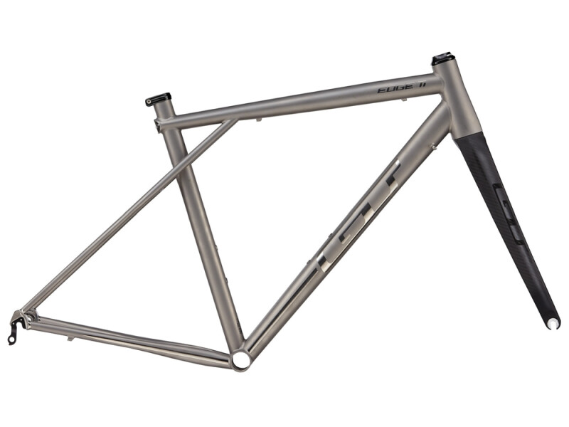 GT EDGE TI FRAME SET RAW TITANIUM
