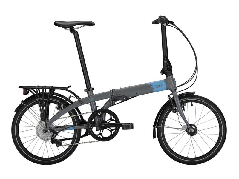 Tern Link D8 (grey / blue)
