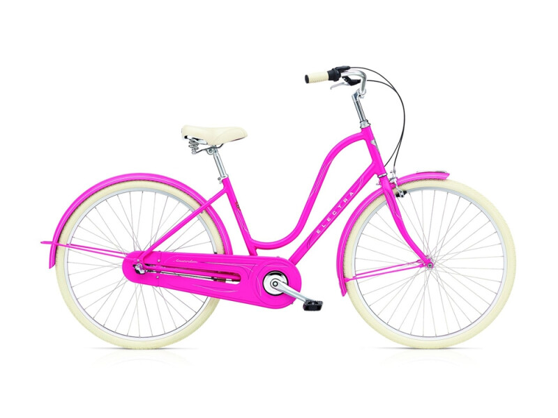 Electra Bicycle Amsterdam Original 3i ladies' / deep pink