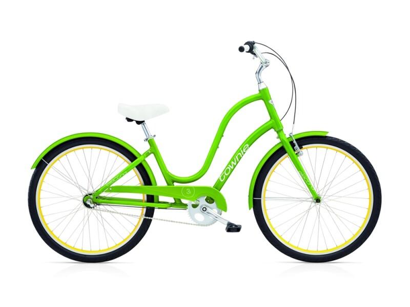 Electra Bicycle Townie Original 3i ladies' / leaf green