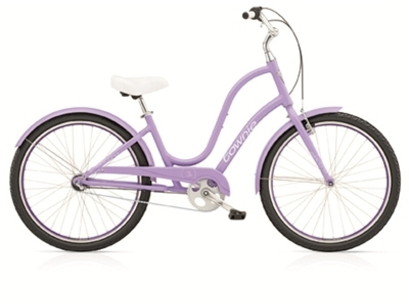 Electra Bicycle Townie Original 3i ladies' / lilac