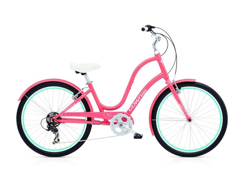 Electra Bicycle Townie Original 7D ladies' / coral