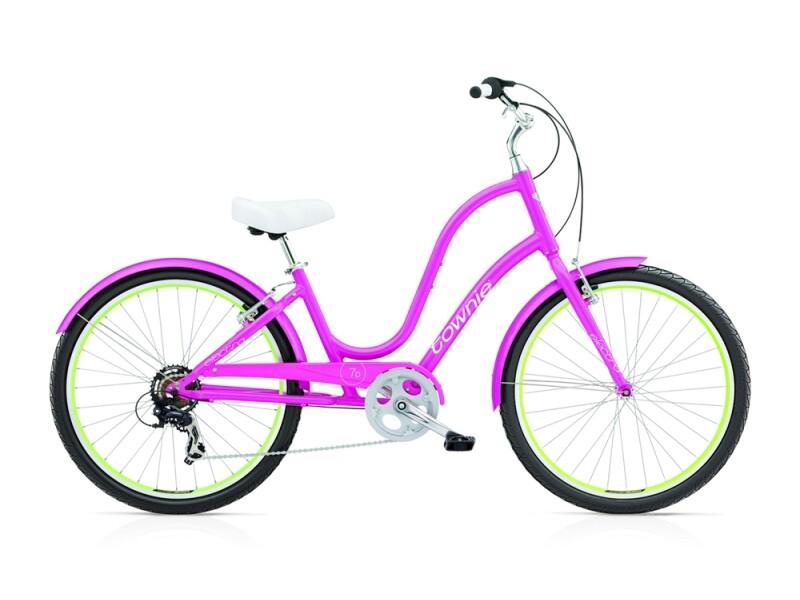 Electra Bicycle Townie Original 7D ladies' / fuchsia