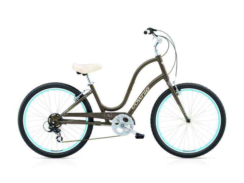 Electra Bicycle Townie Original 7D ladies' / quartz grey
