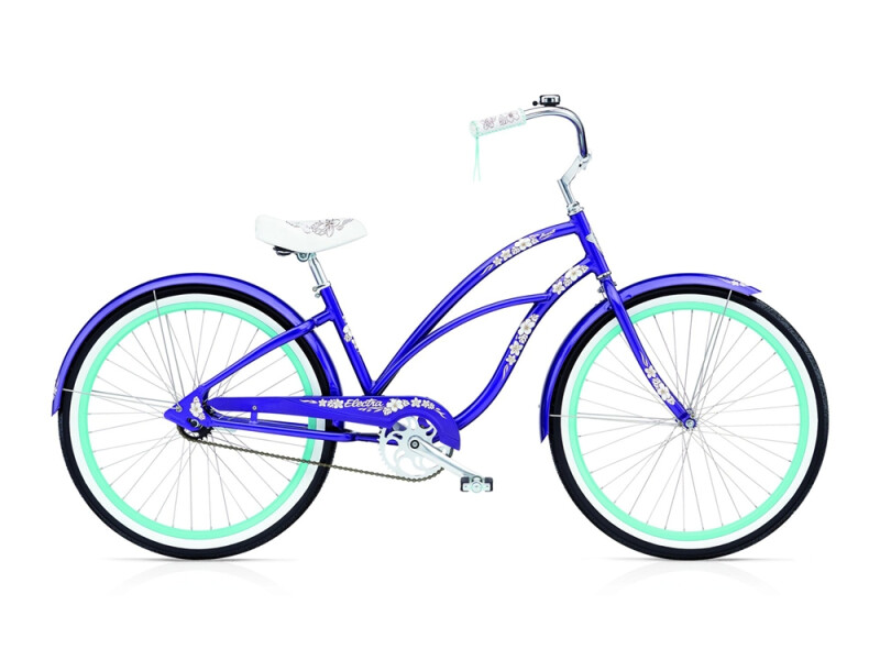 Electra Bicycle Hawaii 3i ladies' / purple metallic