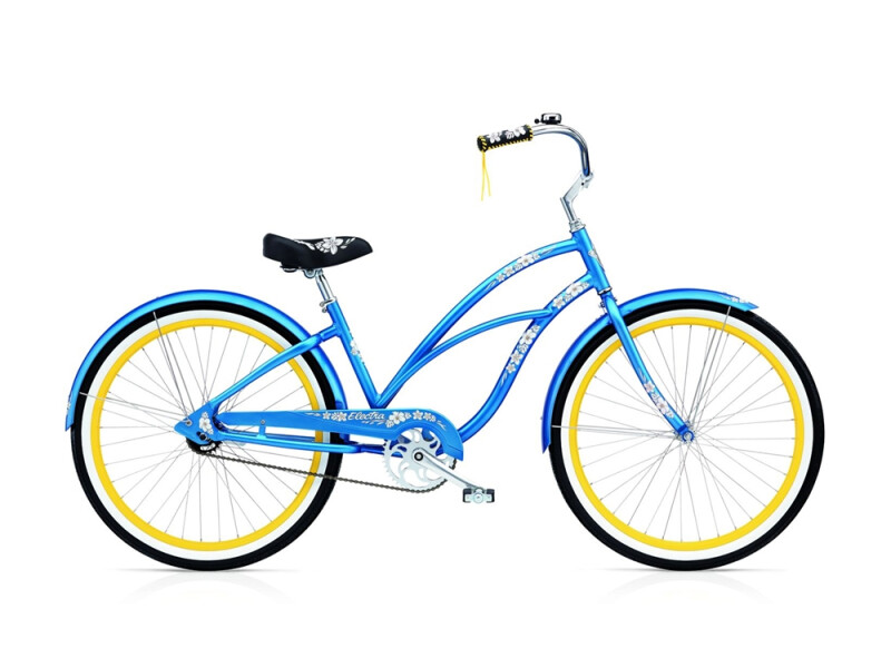 Electra Bicycle Hawaii 3i ladies' / blue metallic