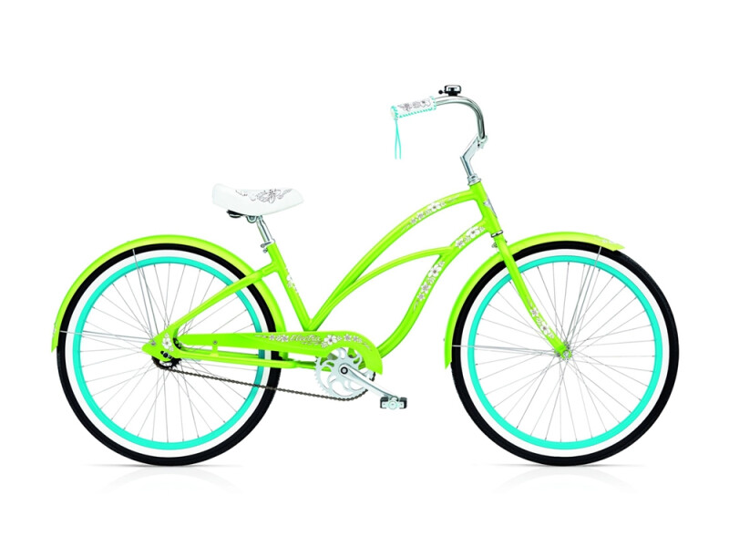 Electra Bicycle Hawaii 3i ladies' / lime metallic