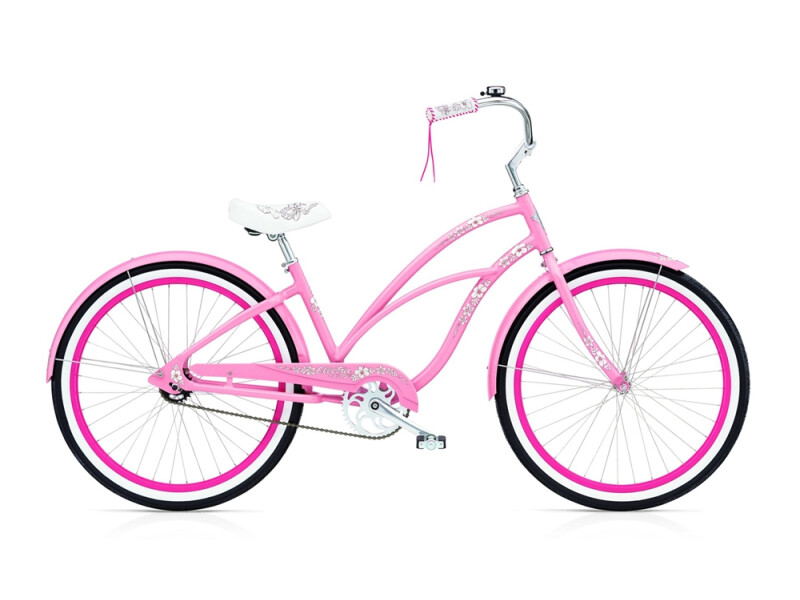 Electra Bicycle Hawaii 3i ladies' / pink