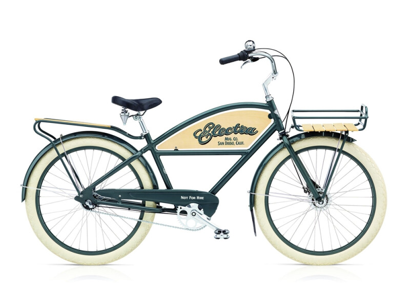 Electra Bicycle Delivery 3i men's / chicago grey