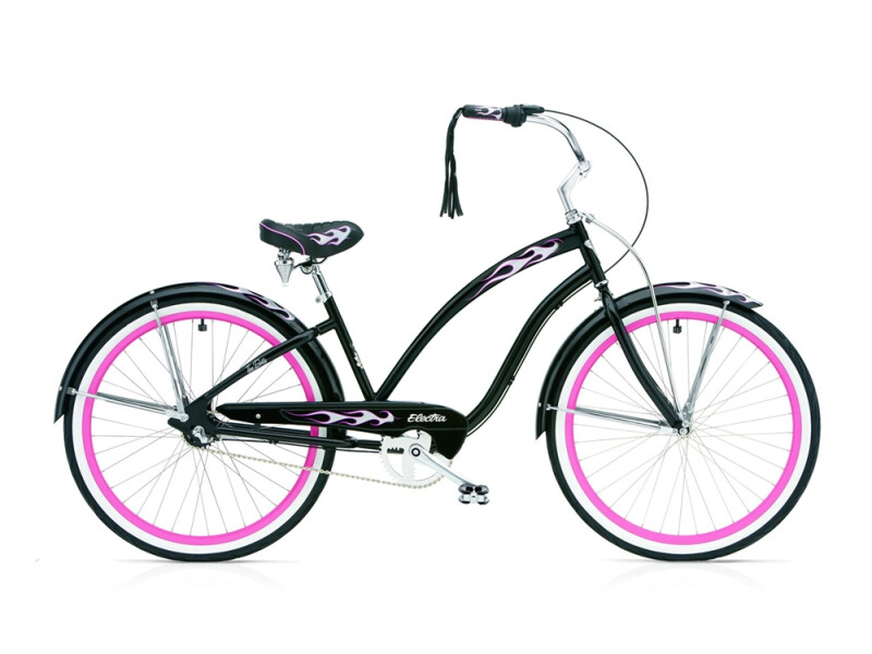 Electra Bicycle Black Betty 3i ladies' / black