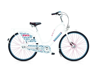 Electra Bicycle Amsterdam Fashion3i Love White