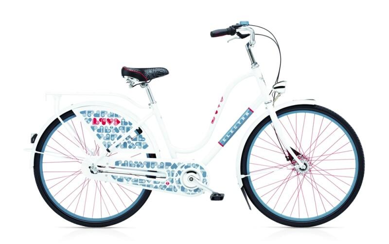 Electra Bicycle Amsterdam Fashion 3i Love ladies'