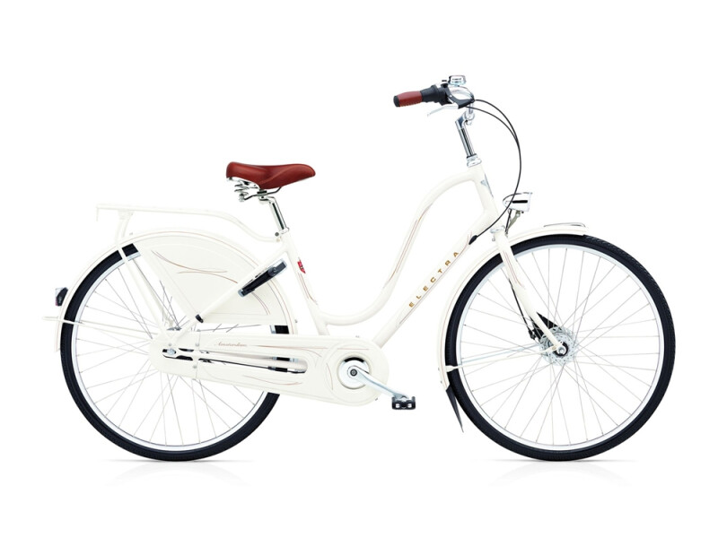 Electra Bicycle Amsterdam Royal 8i ladies' / pearl white