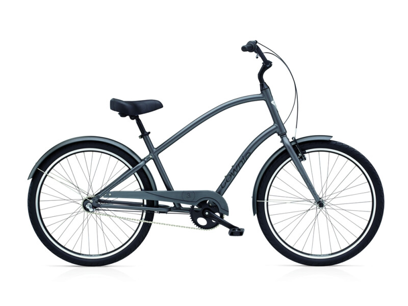 Electra Bicycle Townie Original 3i men's / satin graphite