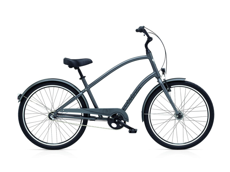 Electra Bicycle Townie Original 3i EQ men's / satin graphite