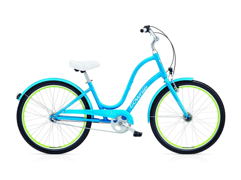 Electra Bicycle Townie Original 3i EQ ladies' / caribbean blue