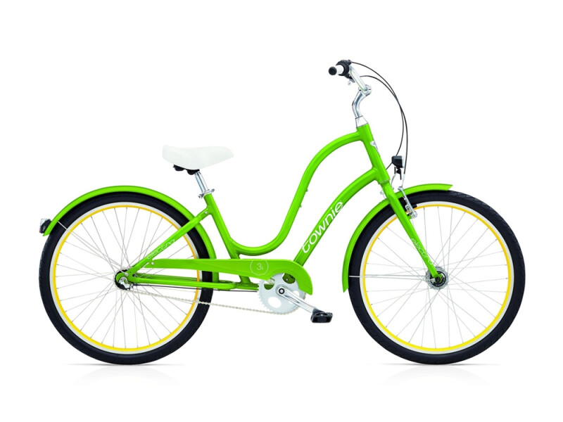 Electra Bicycle Townie Original 3i EQ ladies' / leaf green