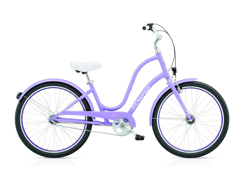 Electra Bicycle Townie Original 3i EQ ladies' / lilac