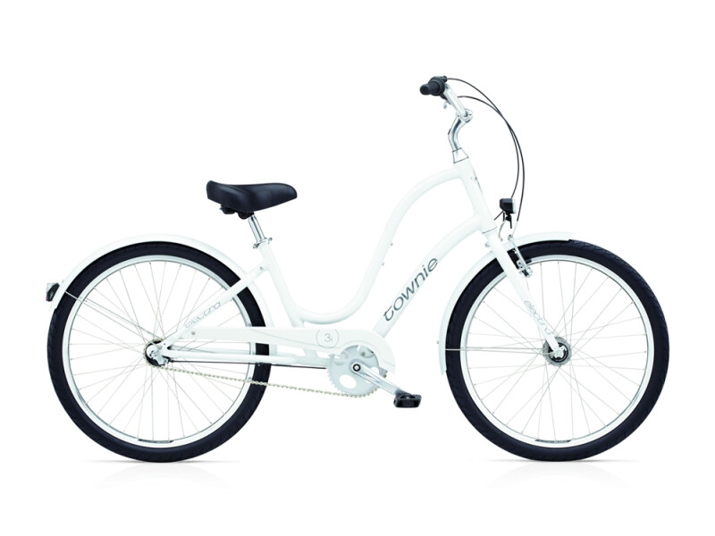 Electra Bicycle Townie Original 3i EQ ladies' / white