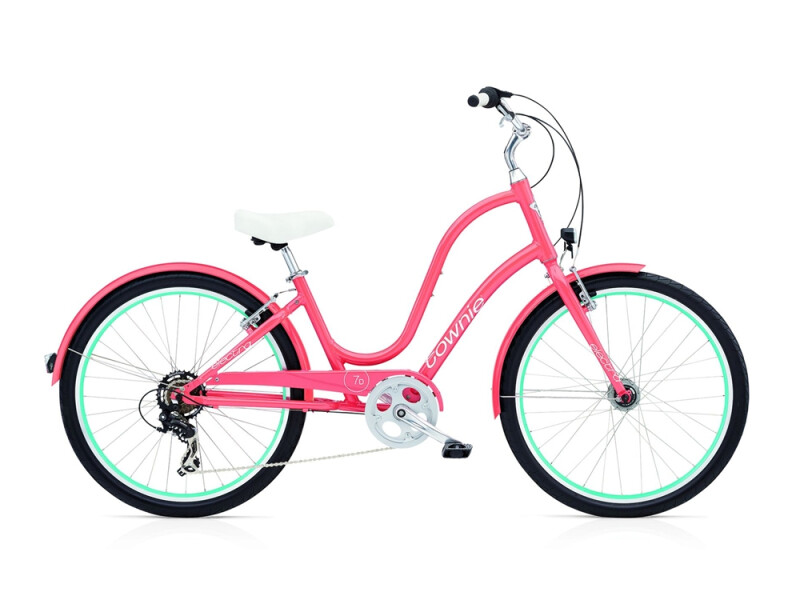Electra Bicycle Townie Original 7D EQ ladies' / coral