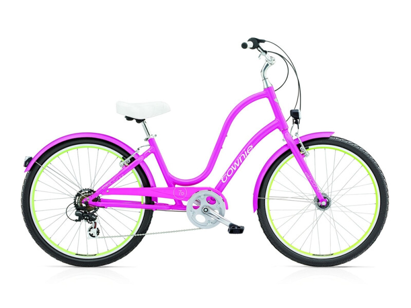 Electra Bicycle Townie Original 7D EQ ladies' / fuchsia