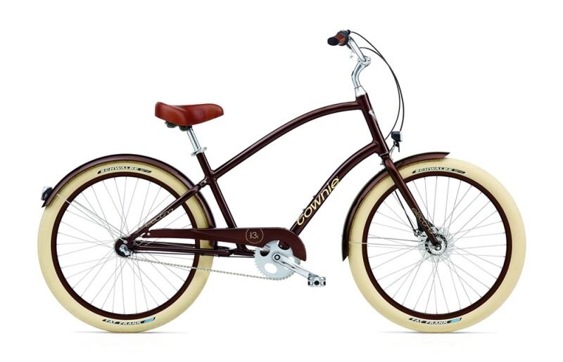 Electra Bicycle Townie Balloon 3i EQ men's / brown metallic