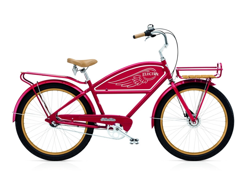 Electra Bicycle Delivery 3i men's / red